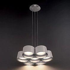 Modern Forms Marimba LED Chandelier | YLighting.com Closet Lighting, Led Module, Glass Diffuser, Led Chandelier, Modern Lighting, Shades, Ceiling Lights, Home Decor, Shutters