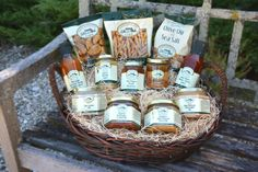 Favorites from the Farm Gift Set. Perfect for the foodie on your list! $74.95 #robertrothschildfarm #giftidea
