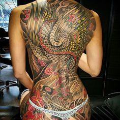 Back Tattoo Art