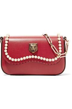 57dad811287 Gucci - Broadway mini embellished leather shoulder bag