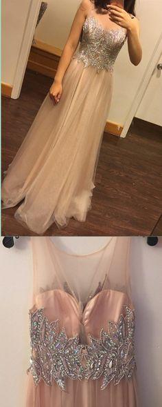 Chiffon Beading Sexy Charming prom dress, sexy prom dress,Charming prom dress, long prom dress,prom dresses, elegant prom dress, prom dress