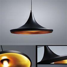 New Beat Style Black Metal Vintage Ceiling Shade Light Pendant Lamp BP#
