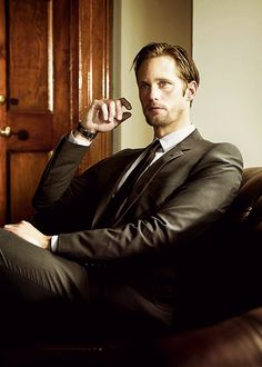 Alexander Skarsgard..... It's not fair for a man to be this gorgeous!