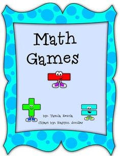 Math cooperative learning games! I have provided different cooperative learning math games that the students love to play!