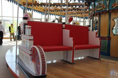 Riverboat Chariot, Carol Ann's Carousel, Smale Riverfront Park,