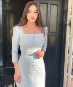 Teen Fashion Outfits, Hijab Fashion, Bridal Makeup For Blue Eyes, Hijabi Girl, Famous Girls, Wedding Styles, Cool Girl, Cold Shoulder Dress, White Dress