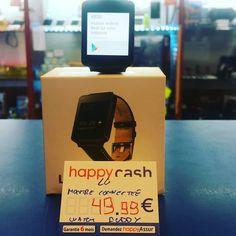 Montre connectée LG g Watch buddy dispo #happycashlannion #bonsplans #bonnesaffaires #happyinfotel22 #lg #montreconnectee #gwatchbuddy Dispo dans votre happycash Lannion depuis le January 11 2018 at 02:39PM