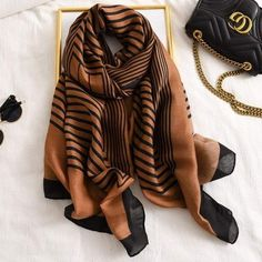 Scarf Design, E Design, Logo Design, Pashmina Scarf, Plaid Scarf, Oversized Scarf, Striped Scarves, Lightweight Scarf, Cotton Scarf