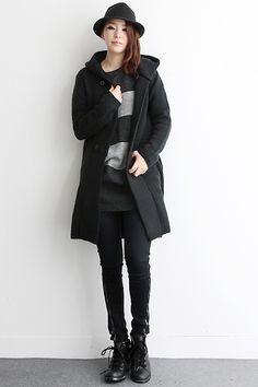 Classic Korean street fashion. -Lily # streetstyle