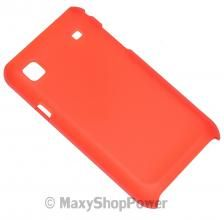 FACEPLATE SLIM COVER HARD COVER CASE SAMSUNG i9000 GALAXY S I9001 PLUS RED ROSSA NEW NUOVA - SU WWW.MAXYSHOPPOWER.COM