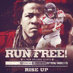 #RiseUp #AtlantaFalcons Social Media concept for the Atlanta Falcons.
