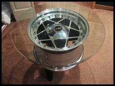 For Sale Custom HRE rim end table! - Cobalt SS Network