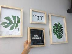 Cuadros Modernos Frases Estilo Nórdicos 20x30 Simple Wall Art, Diy Canvas Art, Inspirational Wall Art, Pretty Wallpapers, Cozy House, Frames On Wall, Printable Wall Art, Home Deco, Decoration