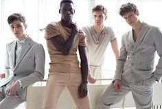 Group Therapy, photography by Matthew Scrivens for GQ Style Turkey - HUF Magazine