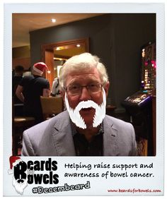 Santa, is that you?! Oh, no it's just Maurice sporting #Decembeard