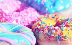 National Donut Day, Krispy Kreme Krispy Kreme, one of the first brands that come to mind when it comes to donuts, Donuts Donuts, Mini Donuts, Colorful Donuts, Colorful Food, Artificial Food Coloring, National Donut Day, Homemade Donuts, Donut Glaze, Krispy Kreme