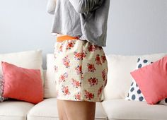 How to Make Easy Women's Boxer Shorts (With Free Pattern) @allycat320 @breannehsmedley