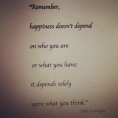 #happiness #thought