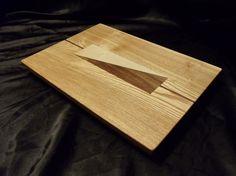Ash Cutting Board w/ Feet by DPcustoms on Etsy, $89.99