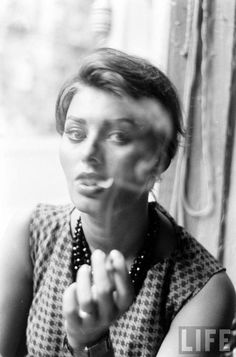 Sophia Loren Photo by Peter Stackpole for LIFE