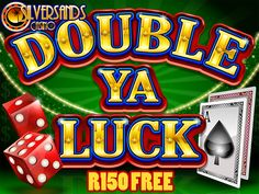 Play Double Ya Luck at Jackpot Capital Casino and 2 Casino Promotion, Time Games, Online Casino Bonus, Play, Sands, News, Running, Happy, Silver