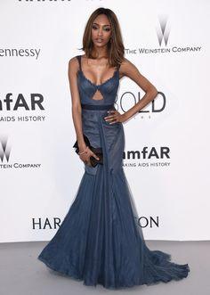 Jourdan Dunn | Voilà ce que les stars ont porté au gala de l'AmfAR à Cannes