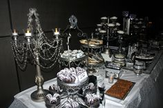 40 & Fabulous Candy Table