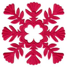 Hawaiian Quilting - Embroidered Design from John Deer