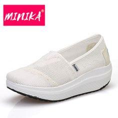 Zapatillas de Bio casa zapato con Plantilla de cuña - Bordo, 40