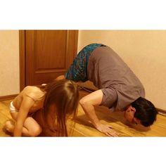#sibworkout5 Конкурс от @rusdudnik Необычное упражнение, развивает плечи