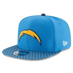 Los Angeles Chargers New Era 2017 Sideline Official 9FIFTY Snapback Cap 9ee8fe39f699