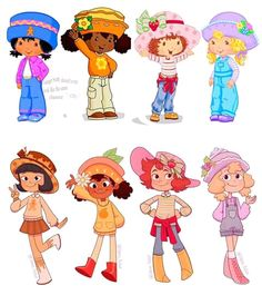 List of Strawberry Shortcake characters - Wikipedia, the free encyclopedia Cartoon Shows, Cartoon Art, Cartoon Characters, Strawberry Shortcake Characters, Strawberry Shortcake Doll, Vintage Cartoon, Art Challenge, Character Design Inspiration, Aesthetic Art