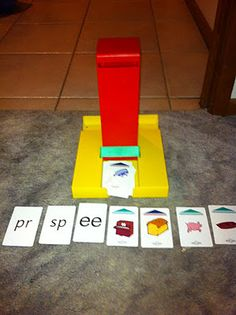 Smart chute from Smart Kids. Different game for speech at home.