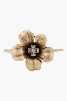 Marc By Marc #Jacobs #Brass Petit Flower Cuff $65.00