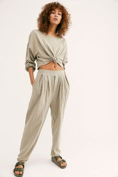 Culver City Set - Lounge Wear Set - Free People Movement American man set from our FP Beach collection. Loungewear Outfits, Loungewear Set, Women's Sleepwear, Lounge Outfit, Lounge Wear, Trendy Outfits, Cute Outfits, Emo Outfits, Summer Outfits