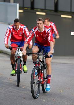 Training with Bayern Munich at 15/10/14 #footballislife