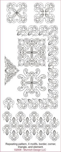 Munnich Design - Quilt Recipes: Digital Quilting Pattern - Browse All Patterns