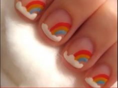 Nail Designs for Kids With Short Nails