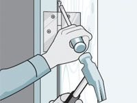 Quick door fixes: squeaky hinge, sticky door, doors that won't stay open, sliding doors that won't slide well