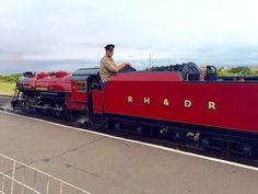 RH&DR train Winston Churchill in Dungeness
