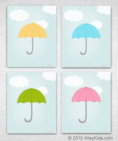 free umbrella printables