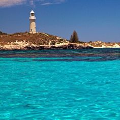 Bathurst Point Lighthouse, Rottnest Island, Western Australia. Climbed this when I was there!