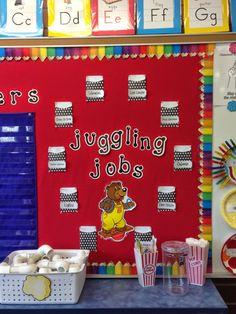 Circus Classroom Job Chart