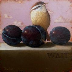 My Paisley World: David Arms' Bird Paintings
