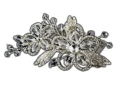 Bridal Comb Swarovski Crystal  Rhinestones SilverTone Hair Comb ** Click image to review more details.(This is an Amazon affiliate link and I receive a commission for the sales)