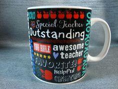 Favorite Teacher Big Coffee Tea Mug Cup Teacher Gift