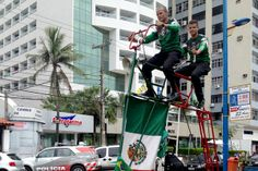 Pedalearon desde México hasta Brasil por el Tri - Futbol - Selección Mexicana