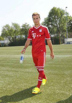 Mario Götze is my favorite player from my favorite team Bayern München