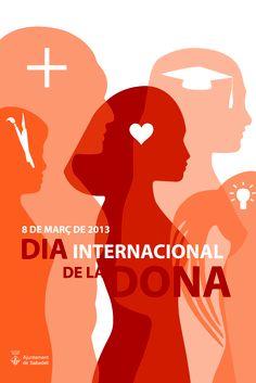 Propuesta de cartel para el dia internacional de la mujer en Sabadell