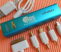 Branding on Power bank media